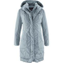 Płaszcz ocieplany bonprix srebrnoszary. Szare płaszcze damskie pastelowe bonprix. Za 239,99 zł.