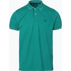 Gant - Męska koszulka polo – Rugger, zielony. Zielone koszulki polo GANT, m, z bawełny. Za 249,95 zł.