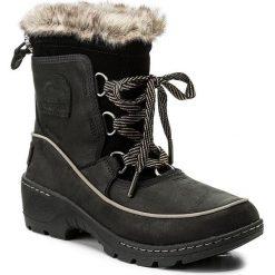 Śniegowce SOREL - Torino Premium NL2777 Black/Kettle 010. Czarne buty zimowe damskie Sorel, z gumy. W wyprzedaży za 409,00 zł.