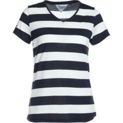 Bergans BASTY LADY TEE Tshirt z nadrukiem white/navy striped. Białe topy sportowe damskie Bergans, s, z nadrukiem, z bawełny. Za 149,00 zł.