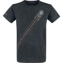 Star Trek Space T-Shirt czarny. Czarne t-shirty męskie z nadrukiem marki Star Trek, xl, z okrągłym kołnierzem. Za 79,90 zł.