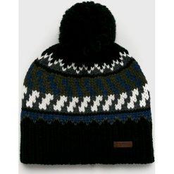 Barts - Czapka Nevada. Czarne czapki zimowe męskie marki Barts, z dzianiny. W wyprzedaży za 99,90 zł.