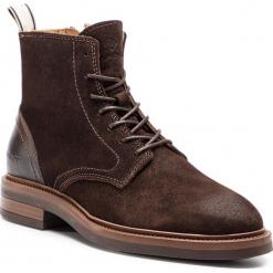 Kozaki GANT - Martin 17643906 Dark Brown G46. Brązowe buty zimowe męskie GANT, ze skóry. Za 739,90 zł.