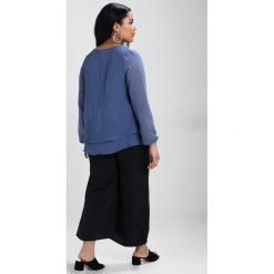 Bluzki asymetryczne: Zizzi Bluzka vintage indigo