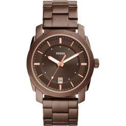Zegarek FOSSIL - Machine FS5370 Brown/Brown. Różowe zegarki męskie marki Fossil, szklane. W wyprzedaży za 499,00 zł.