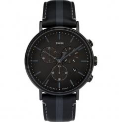 Timex - Zegarek TW2R37800. Czarne zegarki męskie marki Fossil, szklane. Za 499,90 zł.