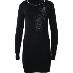 Czarna Sukienka Unclouded. Czarne sukienki dzianinowe marki Vila, na co dzień, m, casualowe, z długim rękawem, maxi, proste. Za 59,99 zł.
