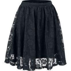 Forplay Lace Covered Skirt Spódnica czarny. Czarne spódniczki Forplay, xxl, oversize. Za 114,90 zł.