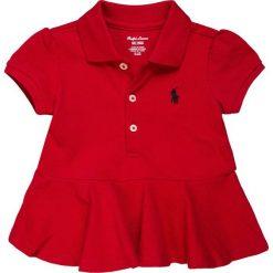 Polo Ralph Lauren BABY Koszulka polo red. Czerwone t-shirty chłopięce Polo Ralph Lauren, z bawełny. Za 129,00 zł.