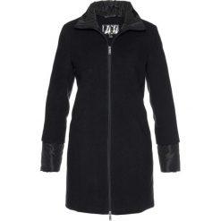 Krótki płaszcz bonprix czarny. Czarne płaszcze damskie bonprix. Za 239,99 zł.