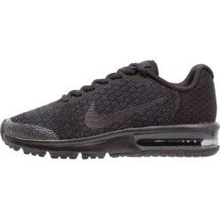 Buty sportowe chłopięce: Nike Performance AIR MAX SEQUENT 2  Obuwie do biegania treningowe black