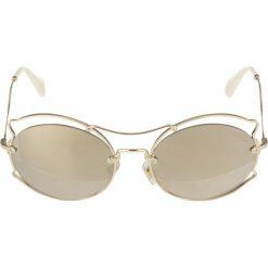 Okulary przeciwsłoneczne damskie: Miu Miu Okulary przeciwsłoneczne gold