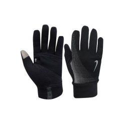 Rękawiczki męskie: Nike Rękawiczki męskie Thermal Tech Run Gloves Anthracite/black r. S