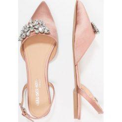 Baleriny damskie lakierowane: Head over Heels by Dune HETTEY Baleriny blush
