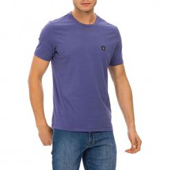 T-shirt w kolorze indygo. Szare t-shirty męskie marki GALVANNI, m, z okrągłym kołnierzem. W wyprzedaży za 84,95 zł.