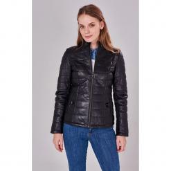 Skórzana kurtka w kolorze czarnym. Czarne kurtki damskie Jimmy Sanders, l. W wyprzedaży za 649,95 zł.