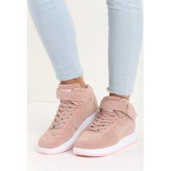Buty sportowe damskie: Różowe Buty Sportowe Marcie