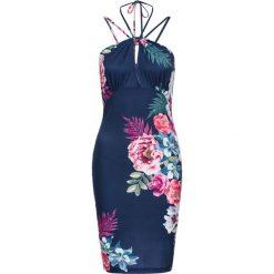 Sukienki balowe: Sukienka w kwiaty bonprix ciemnoniebieski w kwiaty