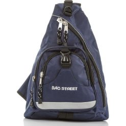 Plecak sportowy na ramię  Bag Street. Niebieskie plecaki męskie marki Bag Street. Za 59,90 zł.