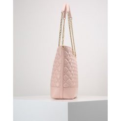 Shopper bag damskie: Love Moschino QUILTED SHOPPER Torebka rosa