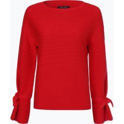 Swetry klasyczne damskie: Marc O'Polo - Sweter damski, czerwony