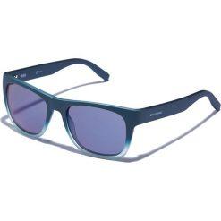 Okulary przeciwsłoneczne męskie: Okulary męskie w kolorze morsko-niebieskim