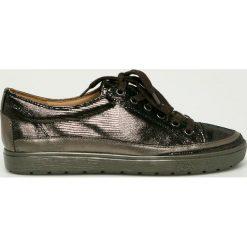 Caprice - Buty. Szare buty sportowe damskie Caprice, z gumy. W wyprzedaży za 239,90 zł.