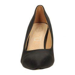 CZÓŁENKA CASU 3369-1. Brązowe buty ślubne damskie Casu, na koturnie. Za 54,99 zł.