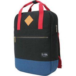 Plecaki męskie: Plecak w kolorze czarnym – 26 x 36 x 9 cm