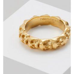 Sygnety męskie: Northskull SKULL RING BAND Pierścionek goldcoloured