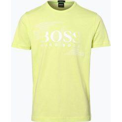 BOSS Athleisurewear - T-shirt męski – Tee 1, żółty. Żółte t-shirty męskie z nadrukiem BOSS Athleisurewear, m, z bawełny. Za 249,95 zł.