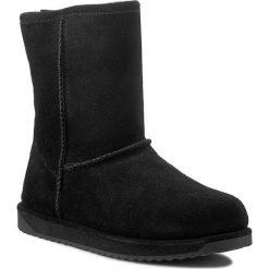 Buty EMU AUSTRALIA - Paterson Lo W10771 Black 2015. Czarne buty zimowe damskie EMU Australia, z gumy. W wyprzedaży za 449,00 zł.