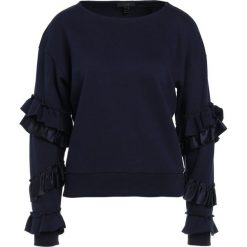 Bluzy rozpinane damskie: J.CREW RUFFLE SLEEVED Bluza navy