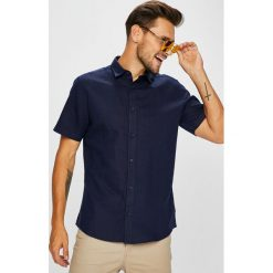 Only & Sons - Koszula. Szare koszule męskie na spinki marki S.Oliver, l, z bawełny, z włoskim kołnierzykiem, z długim rękawem. Za 129,90 zł.
