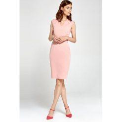 Sukienki hiszpanki: Dopasowana sukienka s87