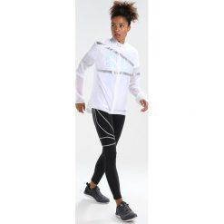 Reebok HERO REFLECTIVE Kurtka do biegania white. Białe kurtki damskie do biegania Reebok, l, z materiału. Za 349,00 zł.