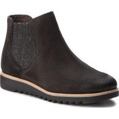 Sztyblety TAMARIS - 1-25300-20 Black 001. Szare buty zimowe damskie marki Tamaris, z materiału, na sznurówki. W wyprzedaży za 189,00 zł.