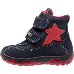 Naturino YUKON Śniegowce bleu/rosso. Niebieskie buty zimowe chłopięce Naturino, z materiału. W wyprzedaży za 179,50 zł.