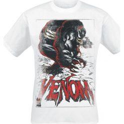 Venom (Marvel) The Black Suit T-Shirt biały. Białe t-shirty męskie z nadrukiem marki Venom (Marvel), s, z okrągłym kołnierzem. Za 54,90 zł.