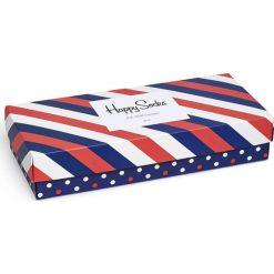Happy Socks - Skarpety Giftbox (4-pack). Szare skarpetki męskie Happy Socks, z bawełny. W wyprzedaży za 99,90 zł.