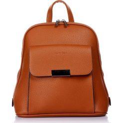 """Plecaki damskie: Plecak """"Stelle"""" w kolorze brązowym – 26 x 29 x 13 cm"""