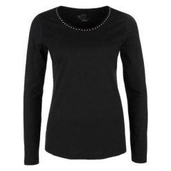 S.Oliver T-Shirt Damski 40 Czarny. Czarne t-shirty damskie S.Oliver, s. Za 59,90 zł.