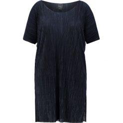 Sukienki hiszpanki: Persona by Marina Rinaldi VECE Sukienka letnia blu marino