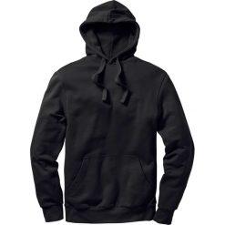 Bluza z kapturem Regular Fit bonprix czarny. Czarne bejsbolówki męskie bonprix, l, z kapturem. Za 74,99 zł.