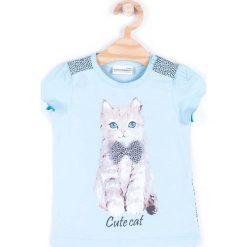 Bluzki dziewczęce bawełniane: Coccodrillo - Top dziecięcy 92-122 cm