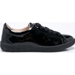 Diesel - Buty. Czarne buty sportowe damskie Diesel, z gumy. W wyprzedaży za 399,90 zł.