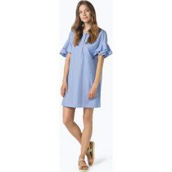 Drykorn - Sukienka damska – Maebel, niebieski. Niebieskie sukienki z falbanami DRYKORN, z jeansu. Za 569,95 zł.