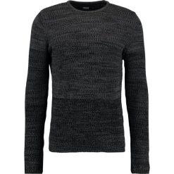 Swetry klasyczne męskie: Solid LARIMAR Sweter castlero