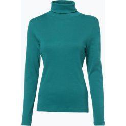 Odzież damska: brookshire - Damska koszulka z długim rękawem, zielony