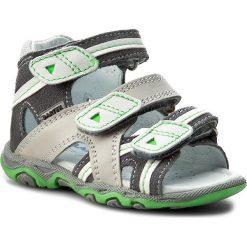 Sandały BARTEK - 11708-0R5 Szary. Białe sandały męskie skórzane marki Bartek. W wyprzedaży za 169,00 zł.